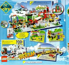 Lego City 1999 set