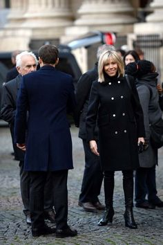 Brigitte Macron style file: Image credits: Getty Images