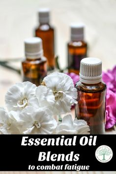 Gain the aromatic benefits of essential oils! Try some of these blends to combat fatigue! The Homesteading Hippy via @homesteadhippy