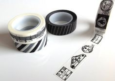 Make cards, decorate your boring calendar or wrap beautifully! Washi tape set japanese washi tape deco by MelsEclecticsupplies, $10.75