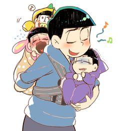 Osomatsu-san  Characters: Karamatsu; Ihimatsu; Juushimatsu; Todomatsu