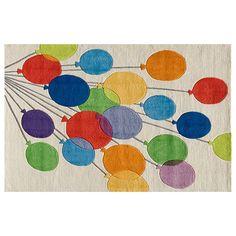 Momeni Lil Mo Whimsy Balloons Rug - 8' x 10', Multicolor
