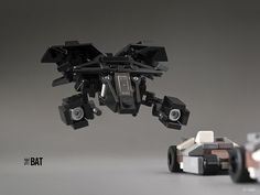 """The Bat"" micro lego"
