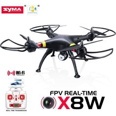 D034 Syma 6 Axis Gyro 4CH X8W Remote Control 2MP Cam Drone Helicopter Quadcopter in Toys & Games, Radio-Controlled, Helicopters | eBay