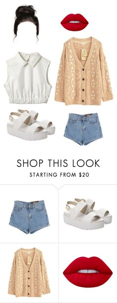 """""""Untitled #449"""" by spencerlilybear on Polyvore featuring Chicnova Fashion, Windsor Smith and Lime Crime"""