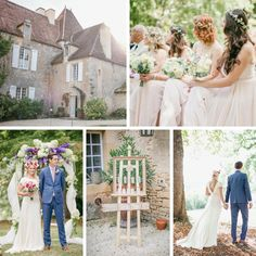 A Heavenly Destination Wedding at a Chateau in the Dordogne from Wookie Photography