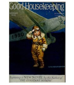Good Housekeeping magazine cover, January 1930 Jessie Willcox Smith