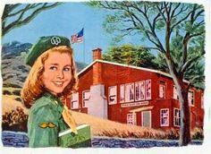 Girl Scout 1956 calendar