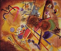 "Wassily Kandinsky, ""Kleine Droom in Rood"", 1925 