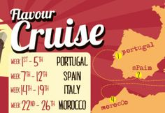 Month long cruise around some of our favourite countries in the Mediterranean. Offering some delightful classic dishes famous to the country. Let the feast begin :)) Cork City, Great Coffee, Mediterranean Recipes, Countries, Cruise, Washington, Lunch, Dishes, Breakfast