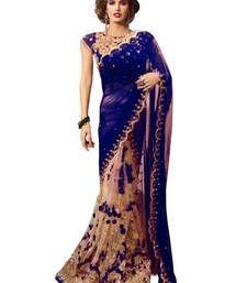 Shop indian sarees online from our wide collection of Sarees. Indian Designer Sarees, Indian Sarees Online, Designer Sarees Online, Sari Design, Georgette Sarees, Net Saree, Amazing Shopping, Bollywood Saree, Half Saree
