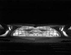 Ezra Stoller, TWA Terminal at Idlewild (now JFK) Airport, Eero Saarinen, New York, NY (1962), via Artsy.net