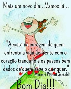 Mas um dia... Vamos lá... Good Afternoon, Good Morning Good Night, Day For Night, Gospel Quotes, Life Quotes, New Emoticons, Peace Love And Understanding, Send A Card, Simple Reminders