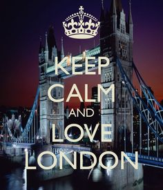 KEEP CALM AND LOVE LONDON - KEEP CALM AND CARRY ON