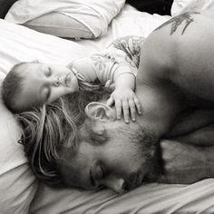 • papa • bébé •