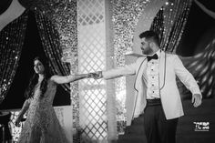 With a wedding ceremony that was complete with Ganga arti and a mehndi filled with fun activities, this couple explored a wide spectrum of moods at their celebrations. Wedding Blog, Destination Wedding, Wedding Ideas, Wedding Ceremony, Wedding Venues, Fashion Couple, Udaipur, Pink Turquoise, First Dance