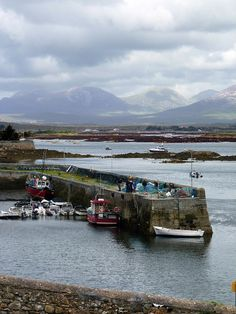 The Pins from Roundstone, Co. Galway, Ireland by kimhollingshead, via Flickr