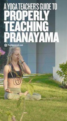 A Yoga Instructor's Guide to Teaching Pranayama Breathwork As a yoga instructor, you know that teaching pranayama is beneficial to your students, but do you k Ashtanga Yoga, Vinyasa Yoga, Bikram Yoga, Iyengar Yoga, Kundalini Yoga, Pranayama, Yoga Fitness, Fitness Quotes, Yoga Meditation