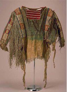 Yankton shirt pre-1860.  Minn. Histo.  ac