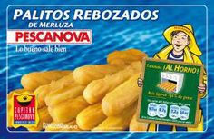 Palitos rebozados de merluza Pescanova al horno (Carrefour) - 2 palitos 1,5 puntos.