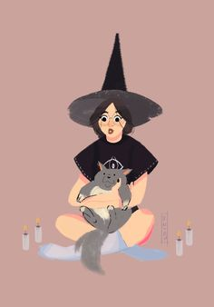 Smol Christian Witch — khanh-trn:   Valentine's day is right around the...