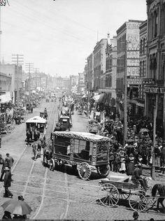 Circus Parade, Milwaukee by Henry Hamilton Bennett