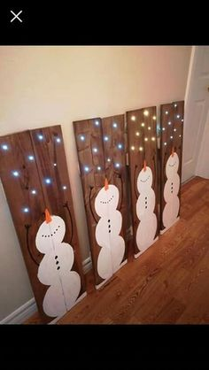 - Schönheit Free Snowman Crafts boards Ideas It is not necessary your miracle wand to .Great Free Snowman Crafts boards Ideas It is not necessary your miracle wand to create magical recollections in Christmas Wood Crafts, Decoration Christmas, Noel Christmas, Outdoor Christmas, Rustic Christmas, Christmas Projects, Xmas Decorations, Simple Christmas, Winter Christmas