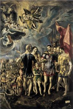Martyrdom of St. Maurice and His Legions - El Greco
