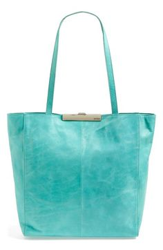 Hobo 'Malinda' Leather Tote at Nordstrom.com. Hobo's Malinda tote features a slimmer silhouette and a gleaming, streamlined push-lock closure that makes it perfect for weekend getaways or day trips. The rich, textured leather adds to the modern but timeless look, while the spacious interior is ready to carry anything you throw at it.