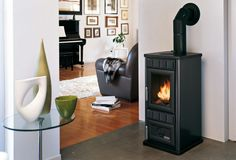 DIANA , Wood Burning Stoves by Palazzetti