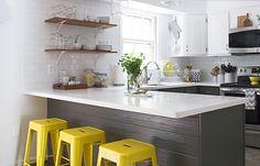 cozinha americana pequena 12