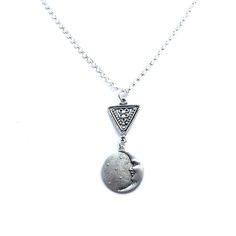 Image of Tribal moon necklace