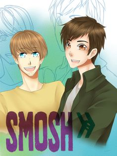 Smosh fan art<<<< It's so cute! But hopefully I know who is who on this Left Ian and Right Anthony... Right?!