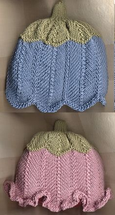 Summer Knitting, Baby Knitting, Knit Crochet, Crochet Hats, Baby Bonnets, Summer Hats, Knitting Projects, Knitted Hats, Knitting Patterns
