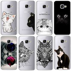 Coque For Samsung Galaxy S3 S4 S5 S6 S7 Edge S8 Plus A3 A5 2016 2015 2017 prime J1 J2 J3 J5 J7 Case TPU Silicon Cover Cat Fundas //Price: $7.95 & FREE Shipping //     #catgift