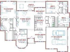 144-1053 Main Level Floor Plan