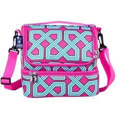 Wildkin & Olive Kids Double Decker Lunch Bag