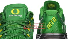Nike Lunar TR1+ Sport Pack 'Oregon Ducks' Front/Back View