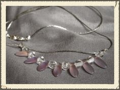 Lavender petals Doodlebert Designs | Necklaces