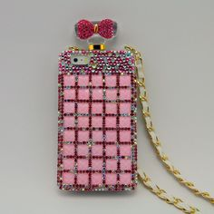Kira #Superstar #Perfume Style #iPhone 5/5s #Case- #Pink