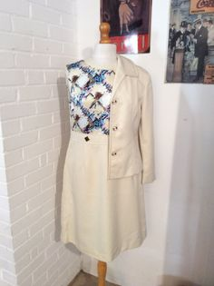 Mad Men  1960s Vintage Suit Don't miss out on this cute Mad Men style suit Buy it now on my Etsy shop today
