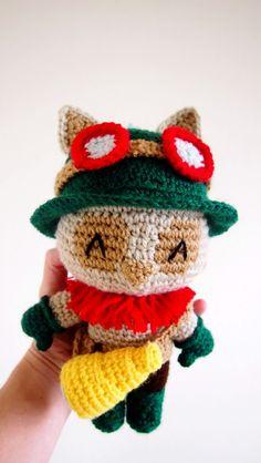 Sol de Noche {deco crochet}: Teemo of League of Legends