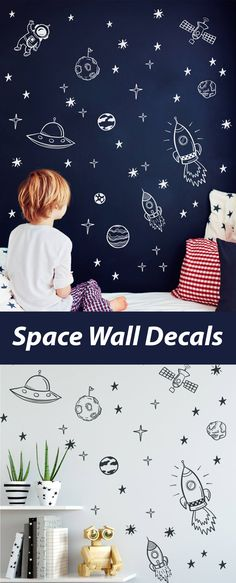 ideas baby boy room themes solar system for 2019 Toddler Boy Room Decor, Nursery Decor Boy, Boy Decor, Toddler Boys, Babies Nursery, Baby Room Themes, Baby Boy Rooms, Nursery Themes, Kids Rooms