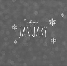 NEW YEAR ♡ welcome January ♥ ℳ ♥