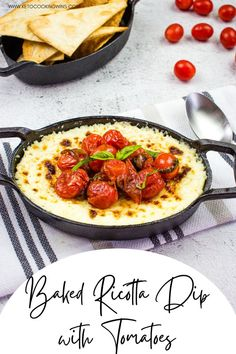 There's unbelievable flavor in this tasty and easy party dip! Perfect with all your favorite dippers, there's loads of cheese in this creamy dip that's a real crowd-pleaser! party food | finger food recipes | appetizers | quick meals | catering ideas | summer recipes | big game recipes | cheese | Dip Recipes, Cheese Recipes, Summer Recipes, Keto Recipes, Game Recipes, Ricotta Dip, Baked Ricotta, Quick Appetizers, Appetizer Recipes