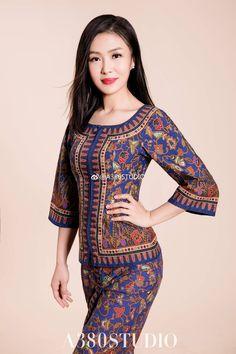 Beautiful Muslim Women, Beautiful Asian Girls, Beautiful Models, Airline Cabin Crew, Hotel Uniform, Airline Uniforms, Thai Traditional Dress, Batik Fashion, Cute Baby Photos