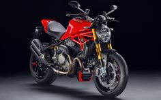 Download wallpapers superbikes, Ducati Monster 1200 S, italian motorcycles, studio, 2017 bikes, Ducati