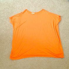 Orange short sleeve PIKO Brand new Orange short sleeve PIKO top Piko Tops Tees - Short Sleeve