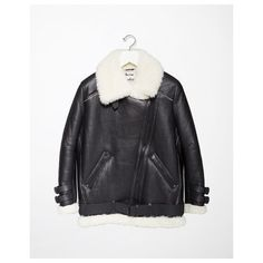 Acne Studios Velocite Jacket ($2,740) ❤ liked on Polyvore featuring outerwear, jackets, oversized jacket, motorcycle jacket, fur moto jacket, rider jacket and oversized biker jacket