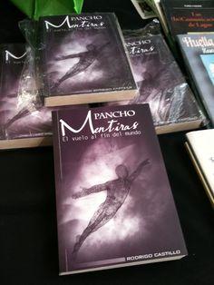 """""""Pancho Mentiras, el vuelo al fin del mundo"""" en la Feria del Libro de Santiago, 2011. Chile."""